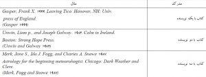 رفرنس دهی به روش شیکاگو (فارسی و انگلیسی)رفرنس دهی به روش شیکاگو (فارسی و انگلیسی)