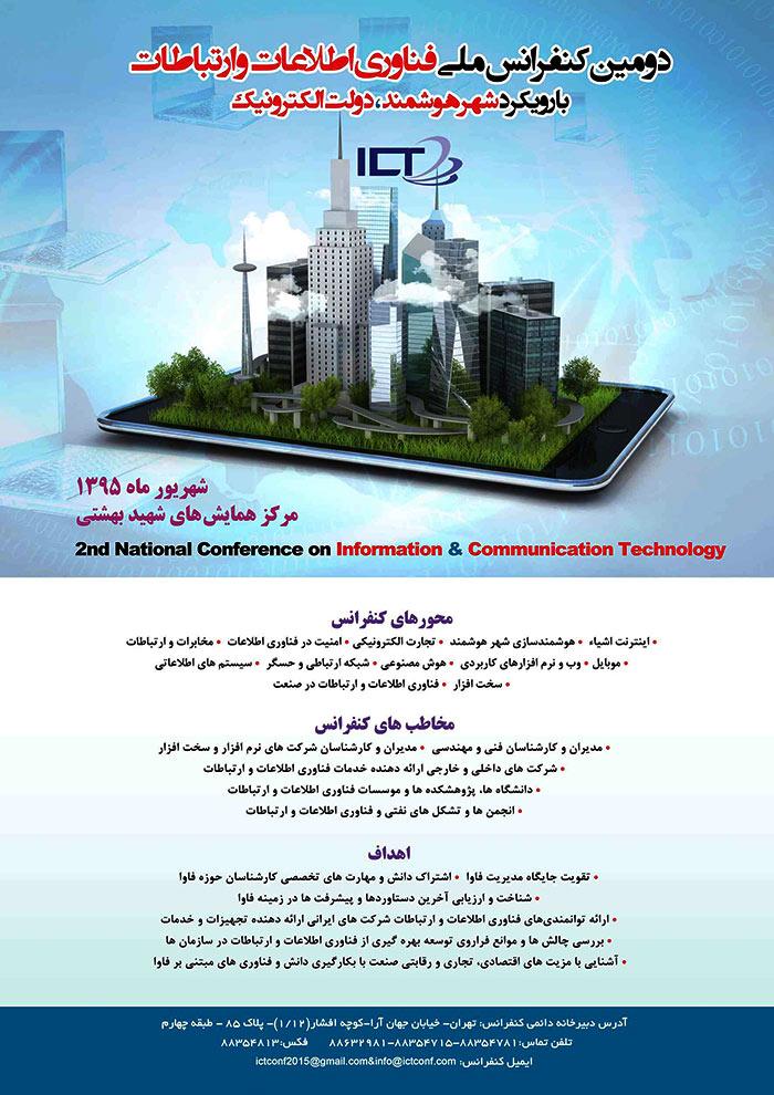 دومین کنفرانس ملی فناوری اطلاعات و ارتباطاتدومین کنفرانس ملی فناوری اطلاعات و ارتباطات