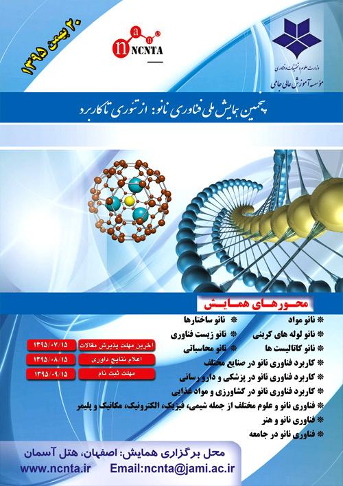 پنجمین همایش ملی فناوری نانو از تئوری تا کاربردپنجمین همایش ملی فناوری نانو از تئوری تا کاربرد