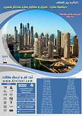 Poster of  International Conference of Civil and Structural Dynamics retrofitting urban structure