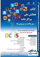 Poster of  First National Conference on data centers Infrastructures & Services اولین همایش ملی مرکز داده زیرساخت وسرویس ها