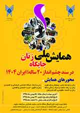 Poster of National Conference on the status of Women in Irans 20-year vision document 1404