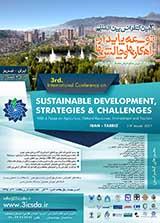 سومین کنفرانس بین المللی توسعه پایدار، راهکارها و چالش ها با محوریت کشاورزی ، منابع طبیعی ، محیط زیست و گردشگری