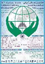 Poster of 8th Safe Community Asian Conference and 1st Safe Community Regional Conference, Mashhad 2017